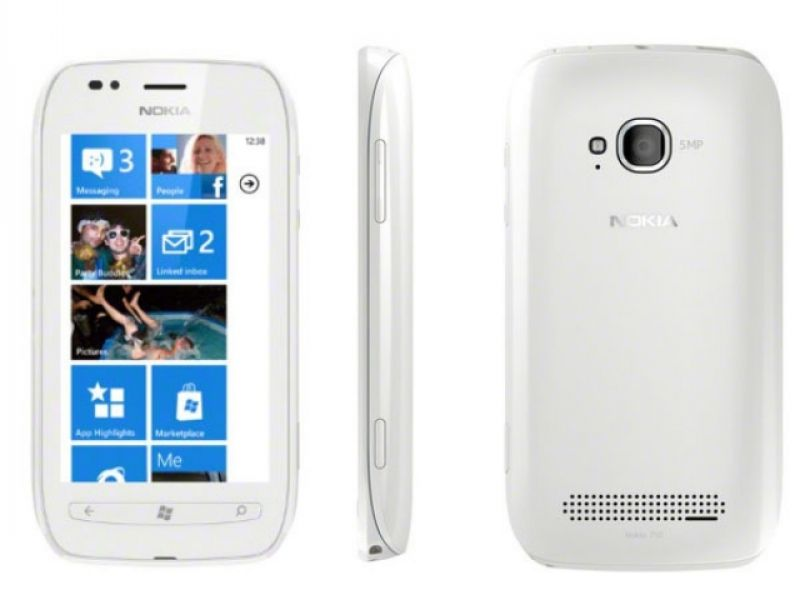 Nokia Lumia 710 Branco, Windows Phone, Câmera 5.0 MP - De R$999 por R$543,59