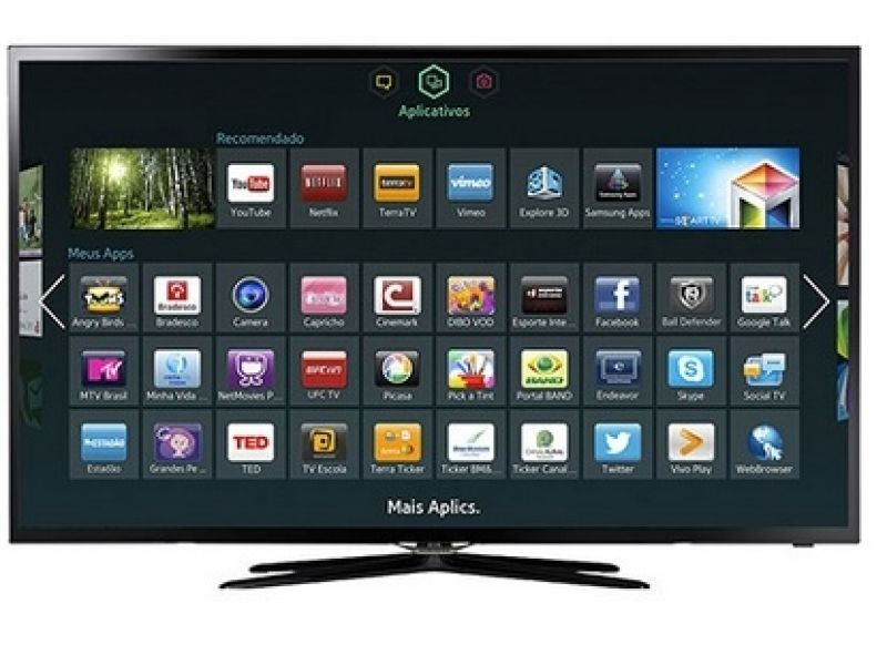 "Smart TV Samsung 32"" LED Full HD dual core Wi-Fi - R$1.169,10"